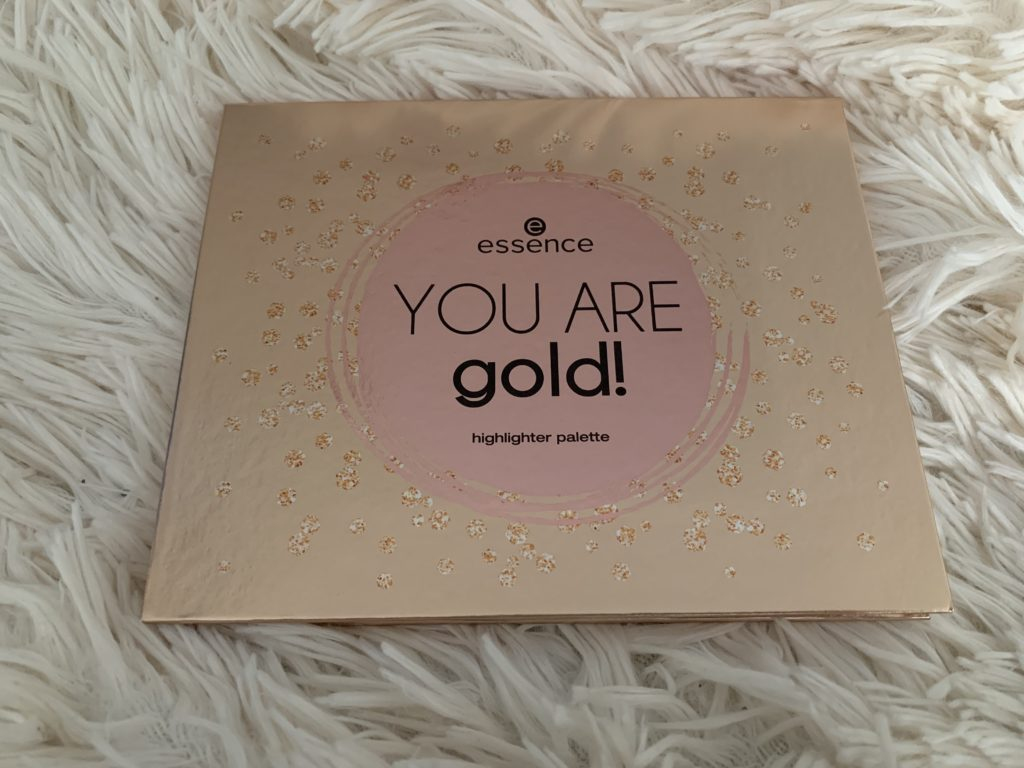 essence you are gold palette