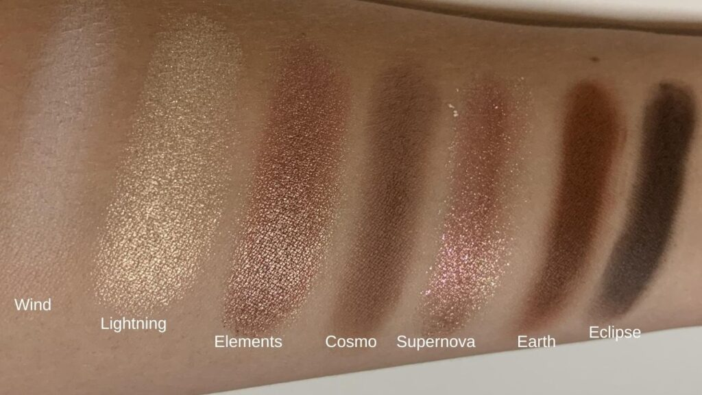 Catrice neon earth swatches