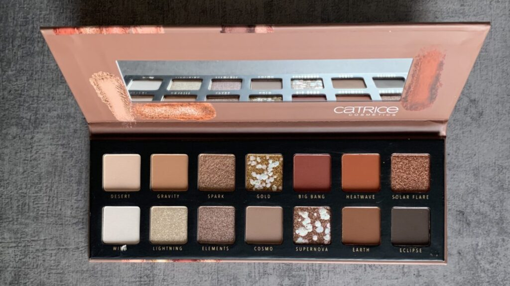 catrice pro slim eyeshadow palette neon earth