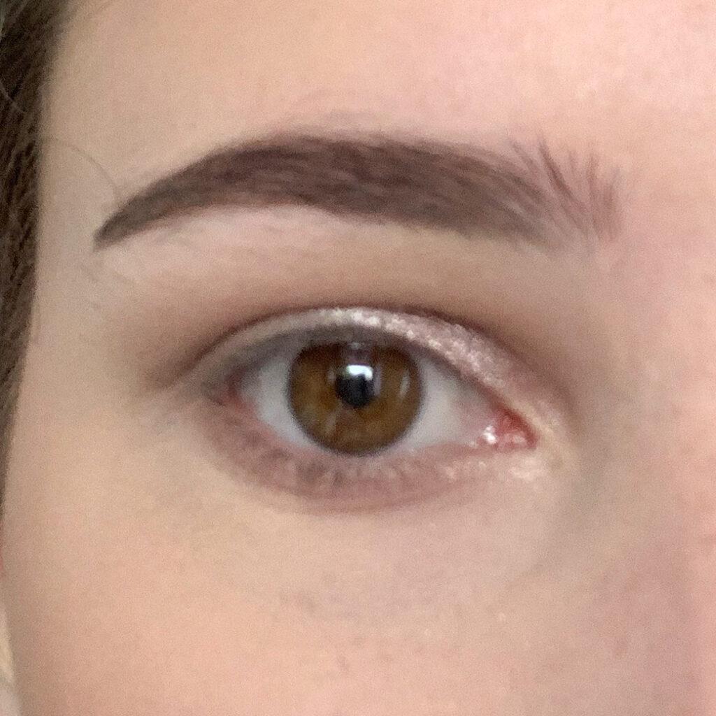 oog zonder mascara
